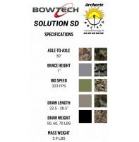Bowtech arc à poulie solution sd 2021