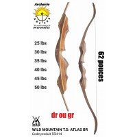 Wild mountain arc chasse td atlas br 55I414