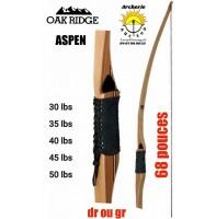Oak ridge longbow aspen