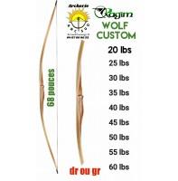 Ragim longbow wolf custom