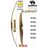 Bearpaw longbow blackfoot