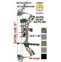 Bowtech package arc à poulie carbon icon G2 2020