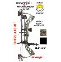 Bowtech package arc à poulie carbon icon G2 DLX 2020
