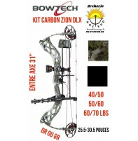 Bowtech kit carbon zion dlx 2021