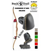 Buck trail carquois d'arc chasse deluxe