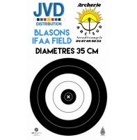 Jvd blasons ifaa field diamètres 35 cm (par 50)