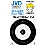 Jvd blasons ifaa field diamètres 65 cm (par 50)
