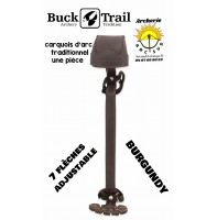 Buck trail carquois d'arc chasse one pièce