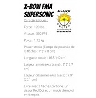 x-bow fma supersonic...
