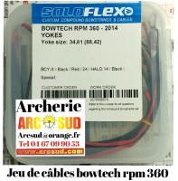 Flex archery kit  câbles bowtech rpm 360
