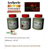 Natur foam kit réparation 3 kg