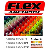 Flex archery ammortiseur flex ball