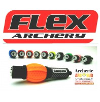 Flex archery ammortiseur de poignée