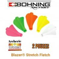 Bohning plumes stretch fletch (par 6)