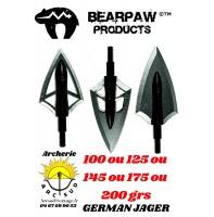 Bearpaw lame german jager (pack de 3)