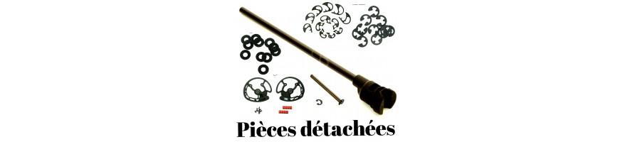 piéces détacheés (poulie ecarteur modules vis et divers pièces)