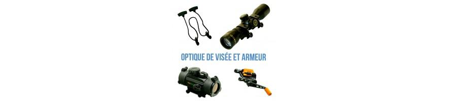 optique de viseé et armeur