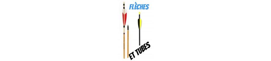 flèches et tubes