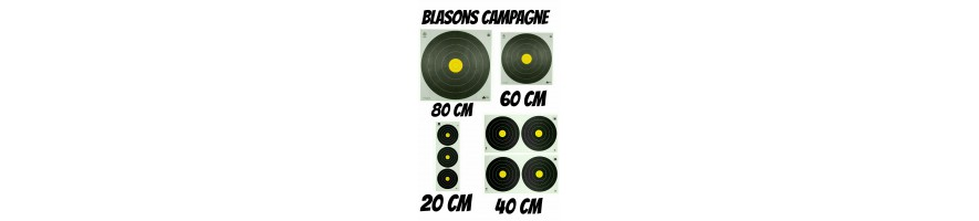 blasons tir en campagne