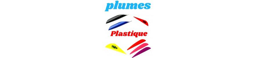 plumes plastiques