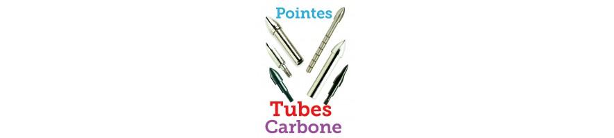 pointes tubes carbone